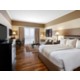 Club Floor King Guest Room with hardwood floors