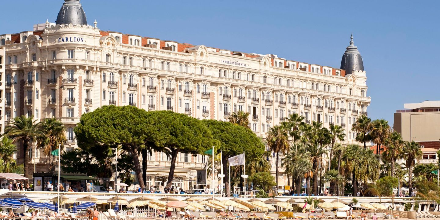 luxury 5 star hotel intercontinental carlton cannes. Black Bedroom Furniture Sets. Home Design Ideas
