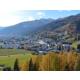 Blick auf Davos im Sommer