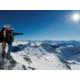Blick ueber die Buendner Alpen von Parsenn