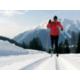 Langlaufloipe in Davos