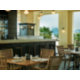 Belgian Cafe Outdoor Terrace