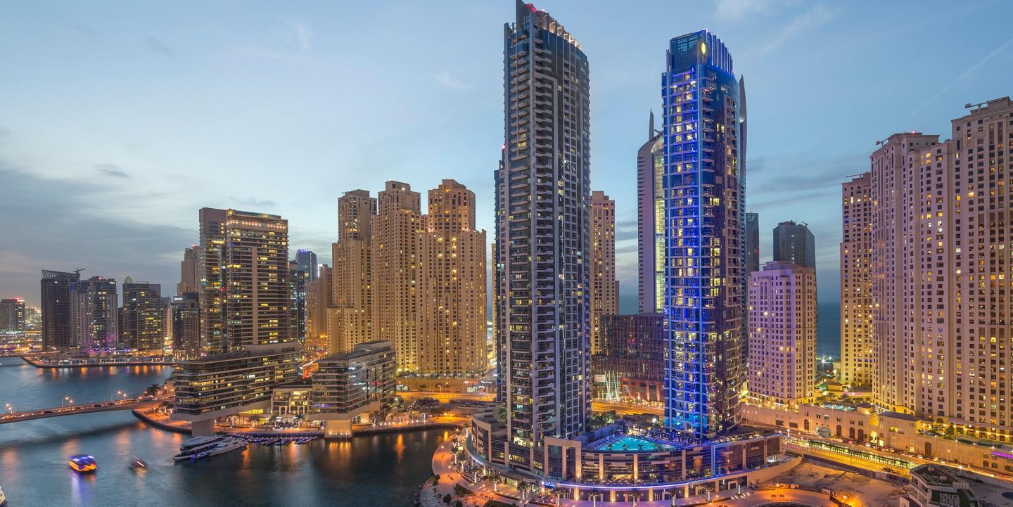 Image result for intercontinental dubai marina