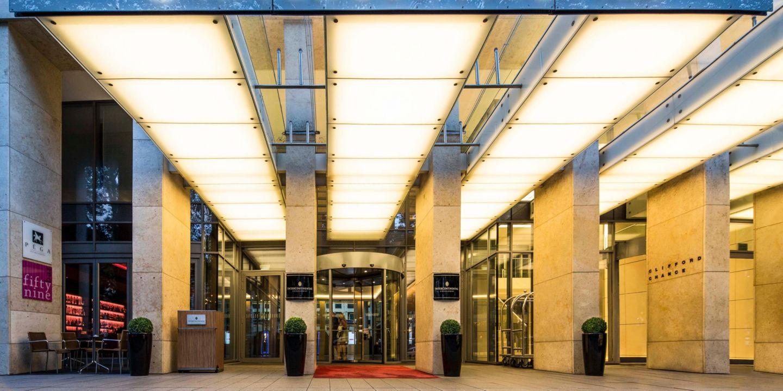 Luxury Central Hotel Intercontinental Hotel Dusseldorf
