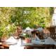 Sommerterrasse des Signatures Veranda Restaurants