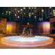 Fountain near Hotel Exterior