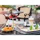 Breakfast in Comme II Faut Restaurant