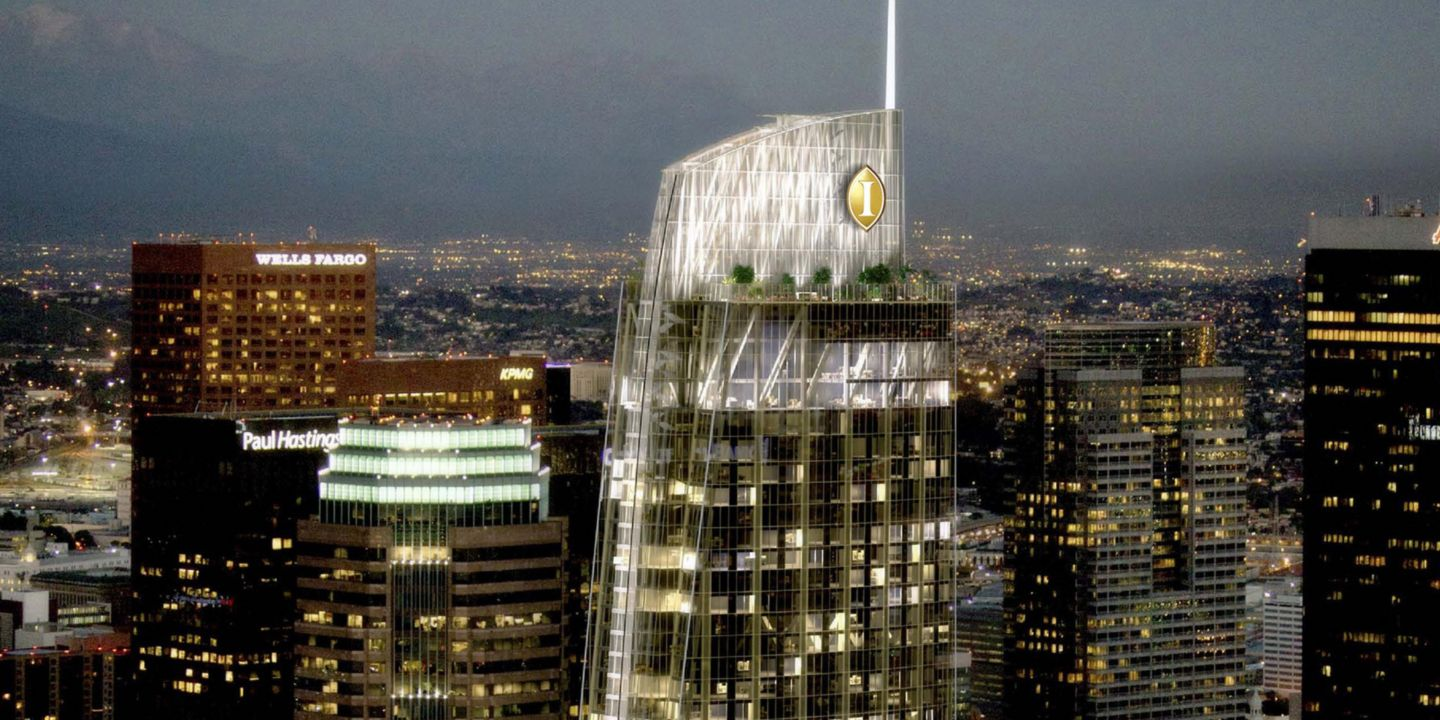 Los Angeles Downtown Luxury Hotel In