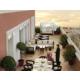 Amplia terraza de la Suite Real