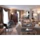 Amplio Salon de la Suite Picasso con acceso al Club Lounge
