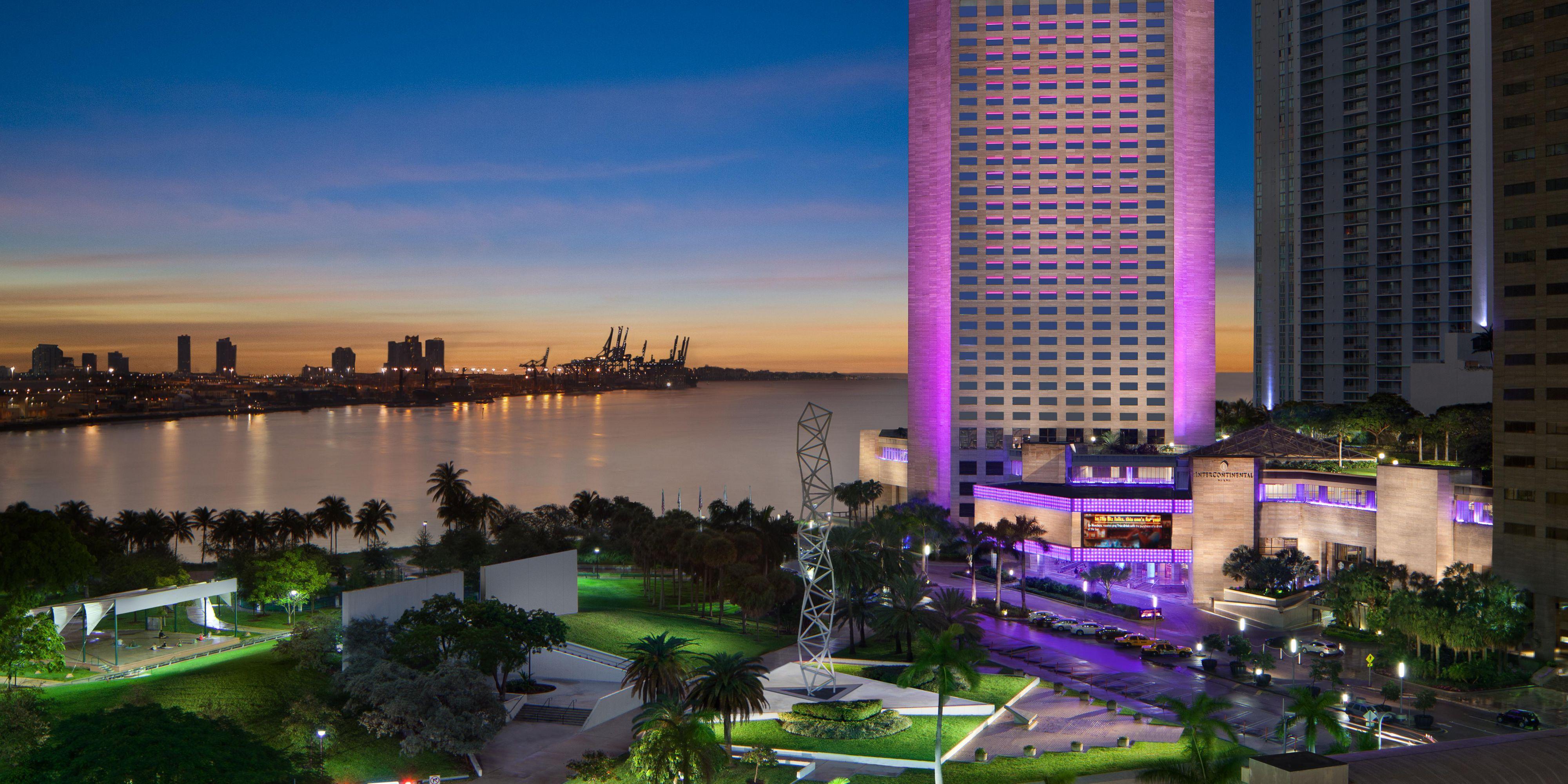 Wonderful Miami Hotels: InterContinental Miami Hotel In Miami, Florida Home Design Ideas