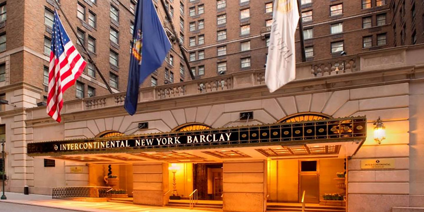 Intercontinental new york barclay new york new york for New york hotels