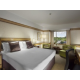 Room with king-size bed. Enjoy the comfort and style.