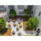French Provincial Courtyard