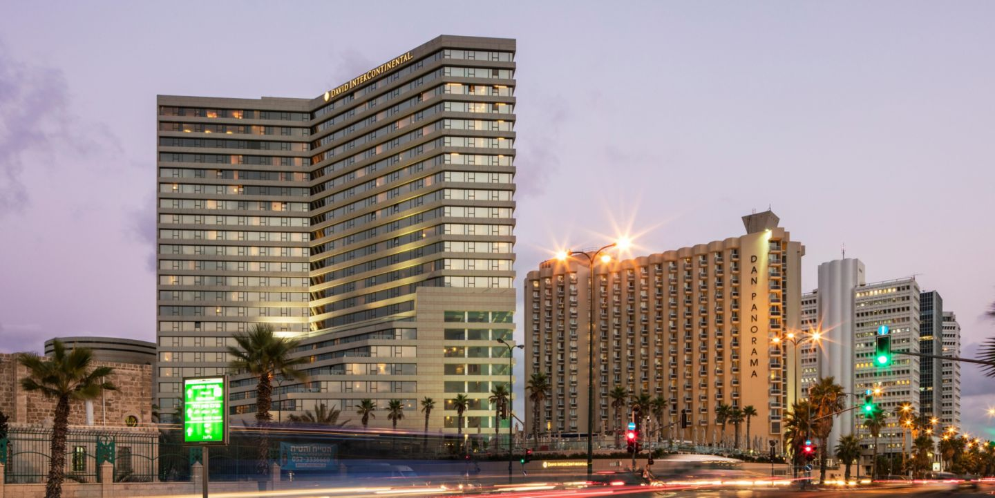 Tel aviv hotels intercontinental david tel aviv hotel in for Dekor hotel tel