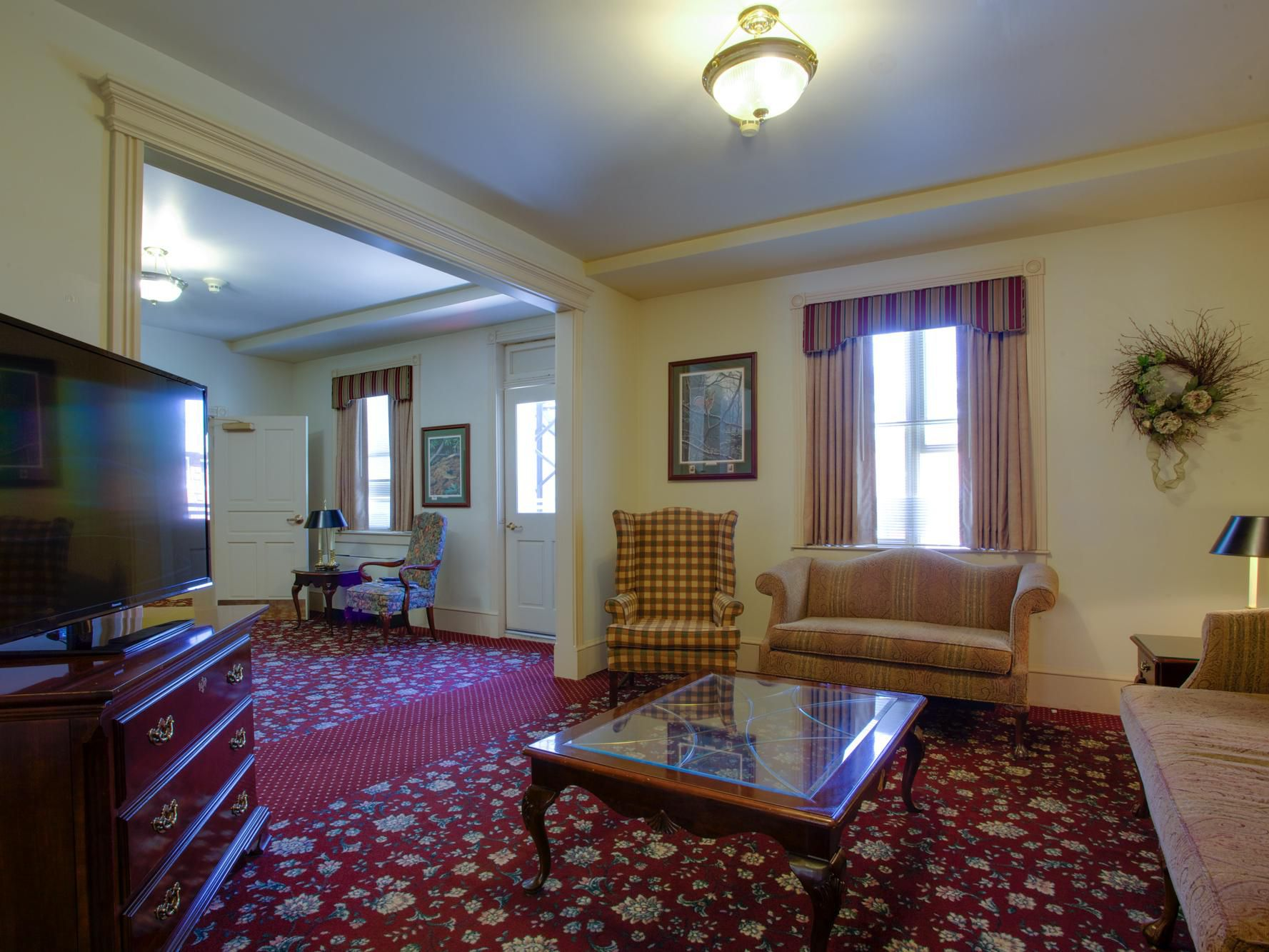 Carlisle Barracks Hotel Lobby