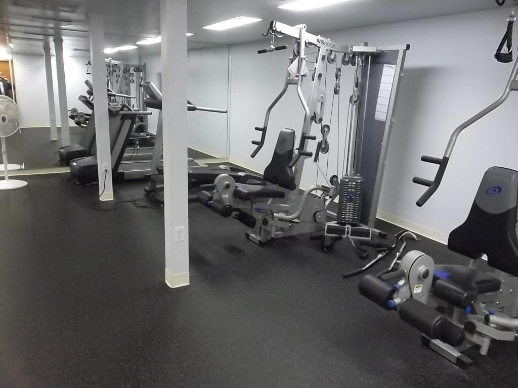 Fitness Center Dozier Hall (Palmetto Fitness Center not available)