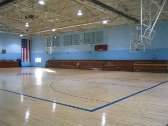 Basketball, Volleyball, Indoor Soccer Court