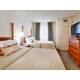 Two Deluxe Double/Double Beds in the Two Bedroom/Two Bathroom Suit