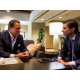 Our Great Room is the perfect place to catch up with colleagues.