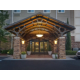 Entrance to Hotel/Evening