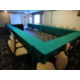 Our accommodating meeting room can host up to 40 people.