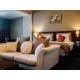 luxurious and comfortable arm-chairs in each room