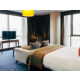 panoramic views from glass walls of the rooms are incredible
