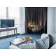 Spacious room with ultimate view of the beatufiul sea side of Baku