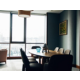 Interior design of the Den room answers to meeting requirements