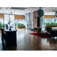 Hotel Lobby designed in modern ultra style