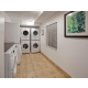 Complimentary on-site laundry with 5 washers and 5 dryers