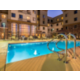 Relax in our outdoor patio and heated pool