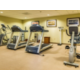 Maintain your fitness routine in our onsite fitness center