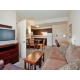 1 Bedroom Suite with pull out sleeper sofa and 32