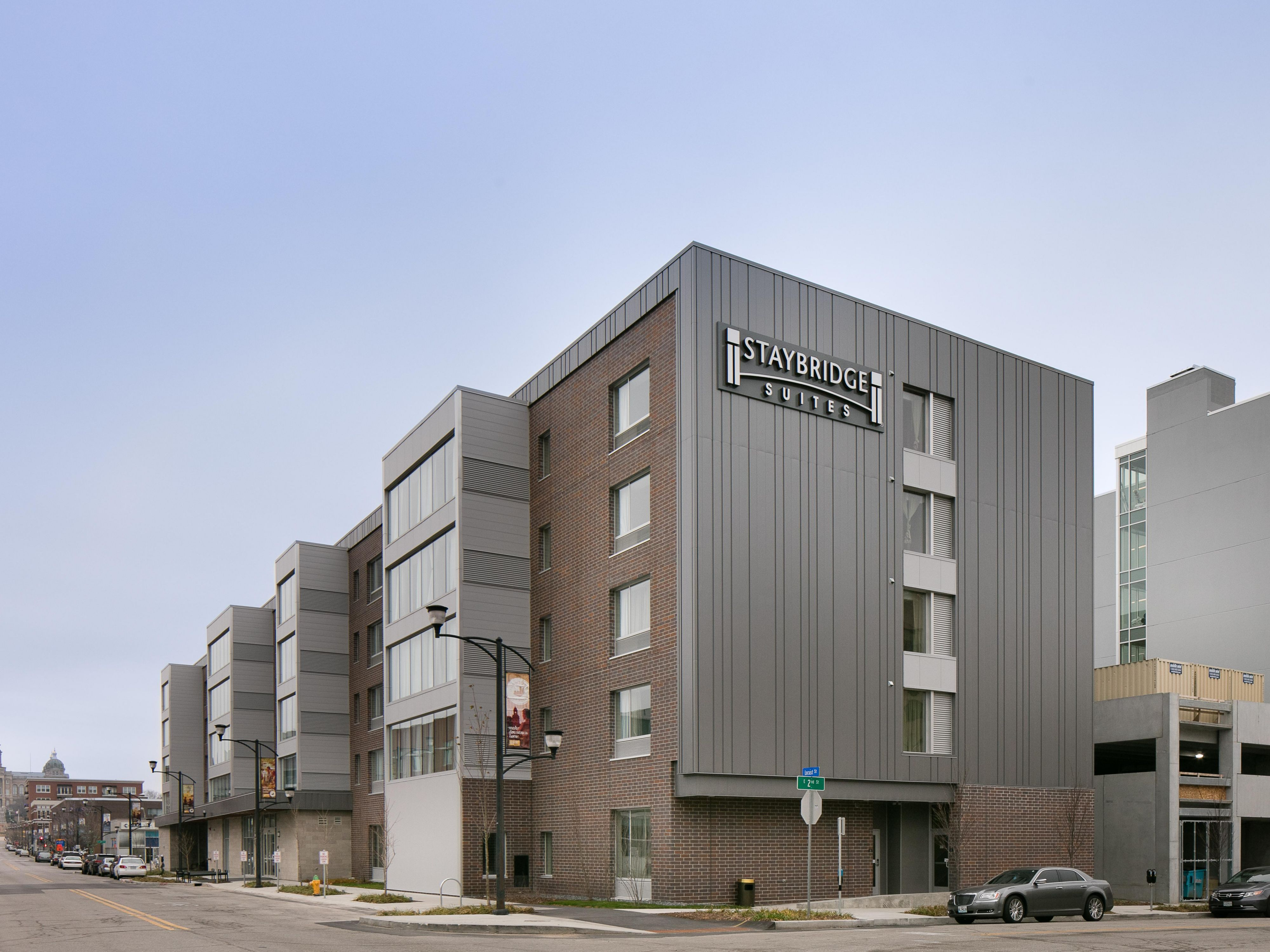 Staybridge Suites Des Moines Downtown Extended Stay Hotel In Des Moines United States With