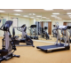Maintain your exercise routine in our fitness center