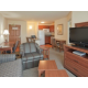 Two Bedroom two bathroom Suite with full kitchen and living room