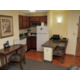 All of our suites have full kitchens and living areas