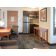Studio Suite Living Space and Kitchen