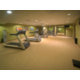 24 hour fitness center allows youto keep up your fitness routine.