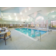 Heated indoor swiming pool, fun for the whole family.