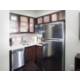 Fully equipped kitchen in each room.