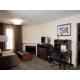 2 bedroom 2 bath Suite Living Room with sleeper sofa