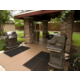 Outdoor grill for guest use