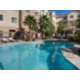 Enjoy a swim in our outdoor pool.