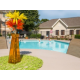 Sparkling Outdoor Pool & Hot Tub