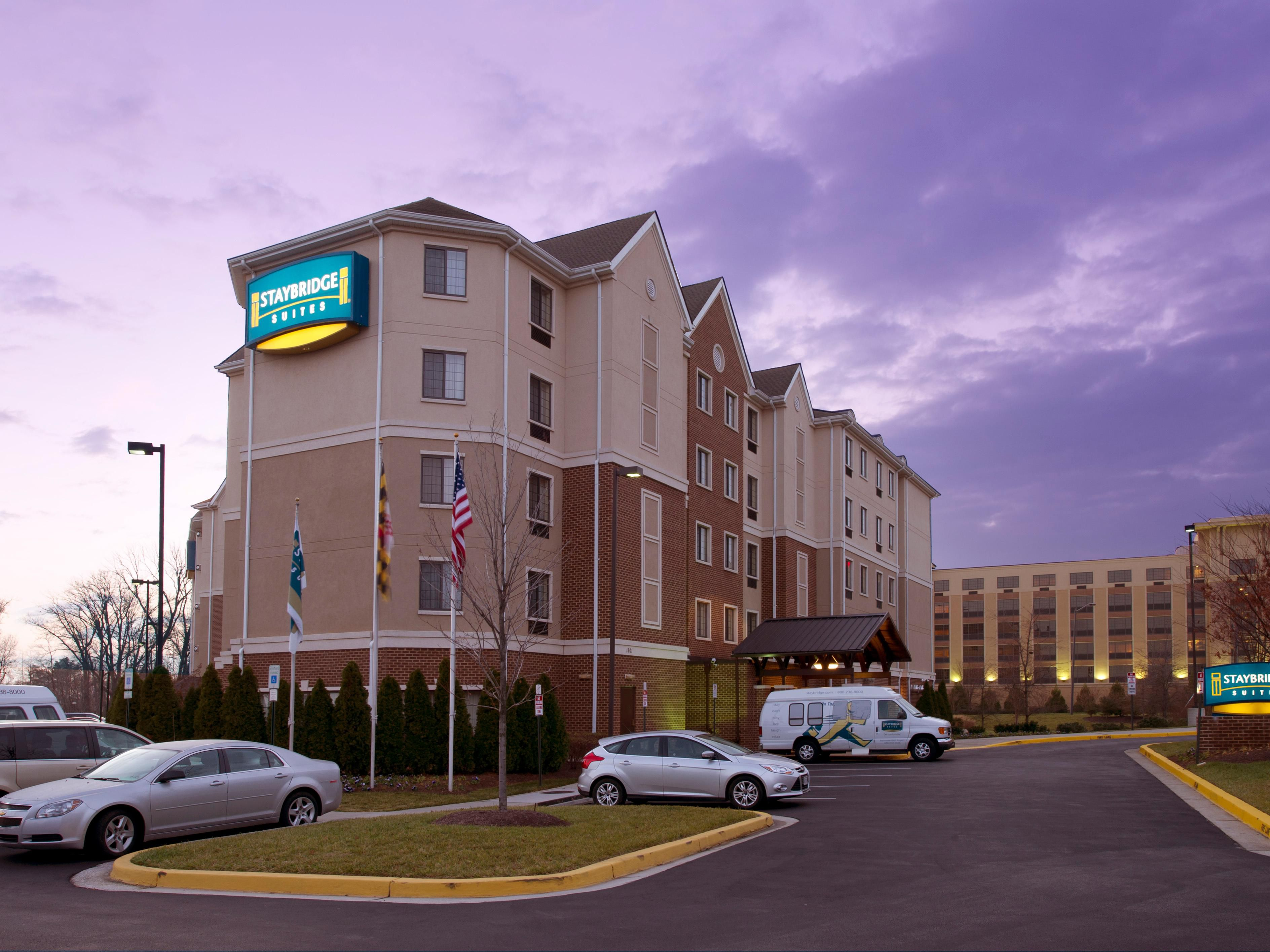Linthi Hotels Staybridge Suites Baltimore Bwi Airport Extended Stay Hotel In Maryland