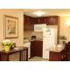 Fully equipped kitchens in every suite....