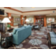 Great central location in hotel to lobby and outdoor patio